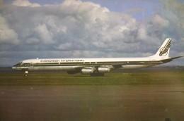 DC 8 73  EVERGREEN INTERNATIONAL   N816EV    MIKE CORNWALL  N° PL01 - 1946-....: Moderne