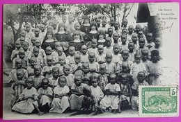 Cpa N°74 Congo Les Soeurs De Brazzaville Et Leurs Elèves Chrétiens Carte Postale 1906 Mission Catholique Gros Plan - Brazzaville