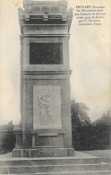 Proyart (Somme) Le Monument élevé Aux Enfants De Proyart Morts Pour La Patrie - U. Gourdon, Sculpteur - Monuments Aux Morts