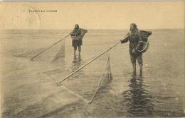 (  Garnaalvisser - Crevettes  )  See Scans  ( Geschreven Met Zegel ) - Belgien