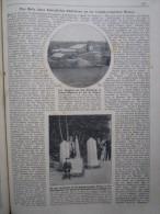 Neutral Moresnet Bergwerk Grenzsteine Bericht WK1 WWI Anno 1918 Zeitung Newspaper Clipping Journal - Plombières