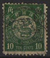 CINA (China): 10 Cents 1897 - Cina