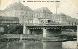 BESANCON - Pont Sur Le Canal Et Intendance Militaire Tramway Adressé à M R. Coiffeur à Clairvaux 39 - Besancon