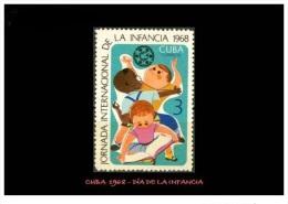 CUBA/KUBA 1968 2DIA INTERNACIONAL DE LA INFANCIA MNH - Cuba