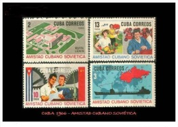 CUBA/KUBA 1966   AMISTAD CUBANO-SOVIETICA MNH - Kuba