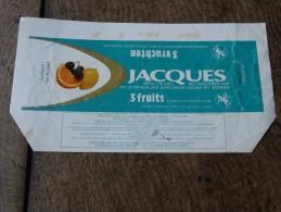 Emballage Chocolat Jacques(3 Fruits) - Chocolat