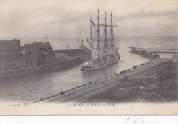 Dieppe. Entrée Du Port - Dieppe
