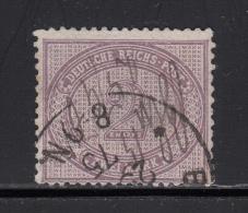 1875  MICHEL   Nº 37a ,  Violettpurpur , - Deutschland
