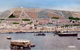 AGADIR (Maroc) - Le Port Et La Kasbah En 1959 (avant Le Tremblement De Terre) - CPSM Rare - TBE - 2 Scans - Agadir