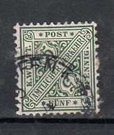 Duitsland - Wurttemberg 1881 Mi Nr 202  Koninkrijk Dienst - Wurtemberg