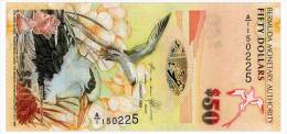 BERMUDA 50 DOLLARS 2009(2012) Pick 61A Unc - Bermudas
