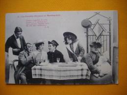 Cpa la famille Durand au Restaurant  -  humour  -  N� 3  -