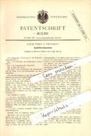Original Patent - Louis Voigt In Vetschau / Spreewald , 1882 , Kartoffel-Erntemaschine , Landwirtschaft !! - Vetschau