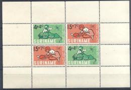 1965 SURINAM  BF 4**  Enfance, Léopard, Tortue, Araignée - Surinam