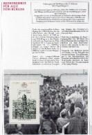 EXTRA Sonderblatt DDR Block 84 ** 4€ Sehenswürdigkeit In Der Hauptstadt Deutschland Architectur Documentation Of Germany - [6] Democratic Republic