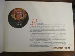 MONACO - MONTE CARLO -- LIVRE --  LES  QUATRE  PREMIERES  DECENNIES  Du  REGNE  De  S.A.S. Le Prince RAINIER III 1949  - - Histoire