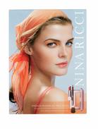 Cartes Parfumées Carte NINA RICCI Makeup Maquillage Cosmétique  French Riviera Printemps été 2005 - Modern (vanaf 1961)