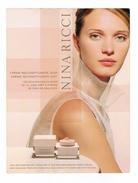 Cartes Parfumées Carte NINA RICCI  Makeup Maquillage Cosmétique CREME RECONSTITUANTE JOUR ET NUIT - Modernes (à Partir De 1961)