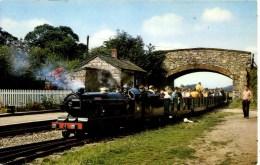 CUMBRIA - RAVENGLASS And ESKDALE RAILWAY - RIVER ESK AT IRTON ROAD STATION RP Cu894 - Cumberland/ Westmorland