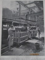 1905 Raffinerie Beghin Say   Atelier Sucre - Vieux Papiers