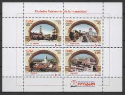 C* (2009) Yv. Bf. 265  /  World Heritage UNESCO - Architecture - Ciudades - Cite - City - Arquitectura