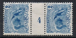 "GUYANE N°50 N** En Paire Millésimée ""4"" - Guyane Française (1886-1949)"