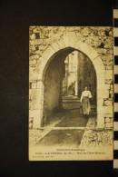 CP, 06, LA TURBIE Rue De L'Arc Romain N° 1006 Voyagé Ed Giletta - La Turbie