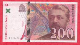 "France 200 Francs ""Eiffel"" 1996  Dans L ´état - 200 F 1995-1999 ''Eiffel''"
