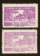 Algérie Colis Postal N°169/70a N** LUXE Cote 40 Euros !!! - Algérie (1924-1962)