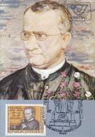 """1984, Maximumkarte """"100. Todestag Von Johann Gregor Mendel"""" - Maximum Cards"""