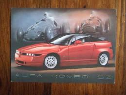 ALFA ROMEO SZ Car Carte Postale - Turismo