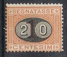 ITALIE TAXE N°23 N* - 1878-00 Humbert I.