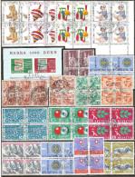 18 Blocs De Quatre De Suisse - Blocs & Feuillets