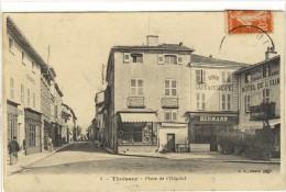 Carte Postale Ancienne Thoissey - Place De L'Hôpital - France