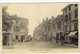 Carte Postale Ancienne Thoissey - Rue De La Grenette - Autres Communes