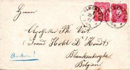 ALLEMAGNE. N°38 De 1879 Sur Enveloppe Ayant Circulé En 1882. Elberfeld. - Covers & Documents