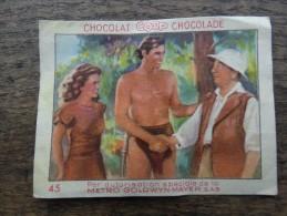 Chocolat COOP(Tarzan Et Jane)N°45 - Chocolat