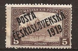 MK--2479              Yvert   93* - Cecoslovacchia
