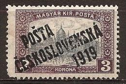 MK--2481              Yvert   92* - Cecoslovacchia