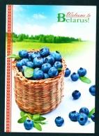 BELARUS  -  Blueberries  Used Postcard As Scans - Belarus