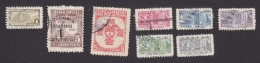 Colombia, Scott #RA33, RA36,RA40-RA45, Used, Postal Tax, Issued 1947-50 - Colombia