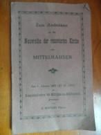 Zum Andenken An Die Neuweihe Der Renovierten Kirche (Mittelhausen) De 1932 - Livres, BD, Revues
