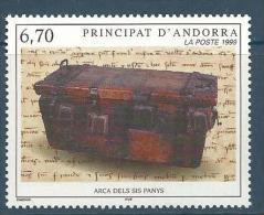 "Andorre YT 523 "" Coffre "" 1999 Neuf** - Neufs"