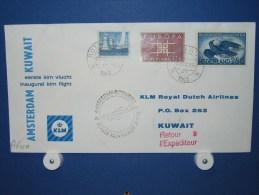 FFC First Flight 235 Amsterdam - Kuwait / Koeweit 1963 - A632a (nr.Cat dVH)
