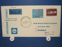 FFC First Flight 236 Amsterdam - Kuwait / Koeweit 1963 - A632b (nr.Cat DVH) - Koeweit