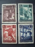 AUSTRIA 1951 / Nr 794/797 MNH ** / COT. 90 € / WIEDERAFBAU - 1945-60 Neufs