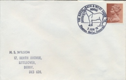 Great Britain 1978 Special Cancel On Cover Shepton Mallet Shire Horse The Royal Bath And West Show - Horses