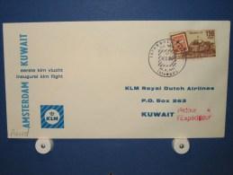 FFC First Flight 238 Istanbul Turkije - Kuwait / Koeweit 1963 - A632d (nr.Cat DVH) - Koeweit