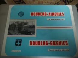 CB4 Houdeng Aimeries et son Bois du Luc Houdeng Goegnies Charbonnages nombreuses photos