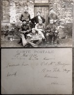 WW1 - Photographie / Carte-Postale - Soldat Cordonnier Bouif : As De La Godasse  - Lafere Aisne 1920 - Guerre, Militaire